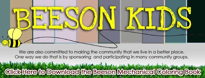 Beeson is a Franklin IN AC repair service company that cares about children.